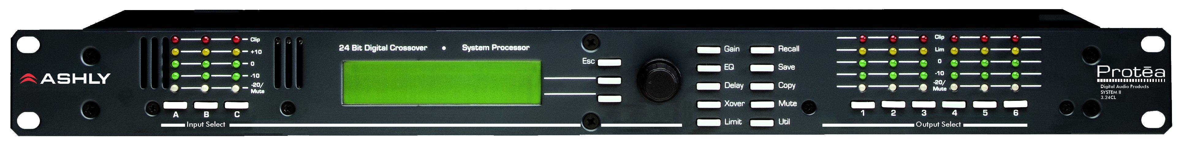 Ashly 3.24CL数字分频/系统处理器
