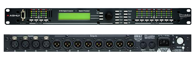 Ashly4.24C 数字式分频器 / 音频处理器