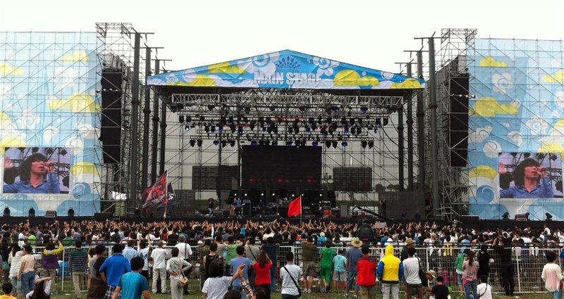 2012年第四届张北草原音乐节使用的扩声系统