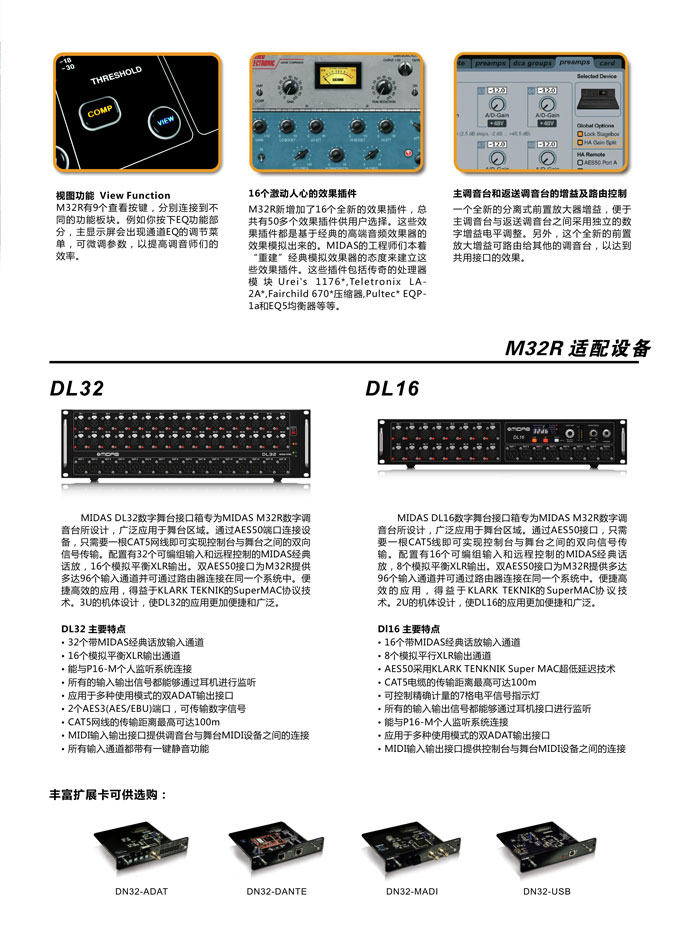 MIDAS M32R数字cmp冠军国际